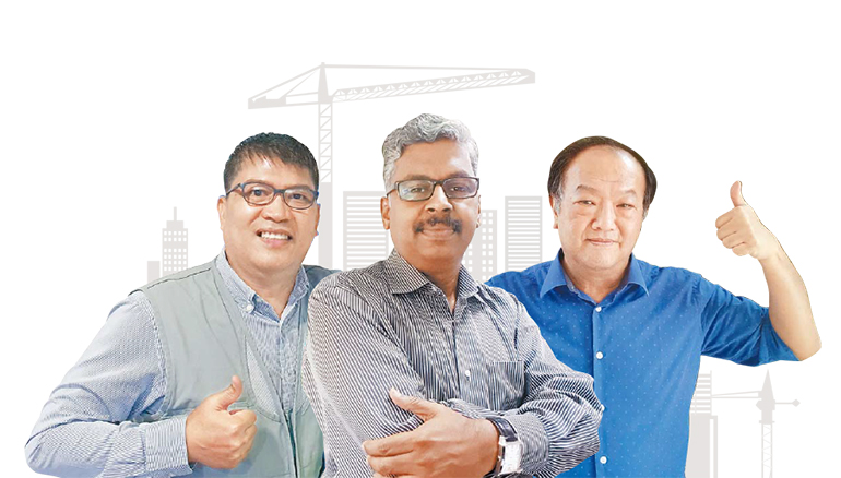 Interviews with three global workers who have been with Hyundai E&C for over 25 years