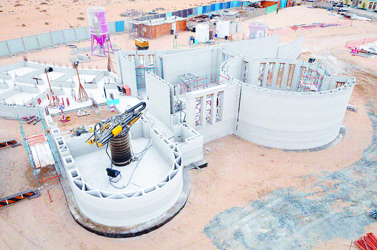 Apis Cor builds Worlds largest 3D-Printed building in Dubai.