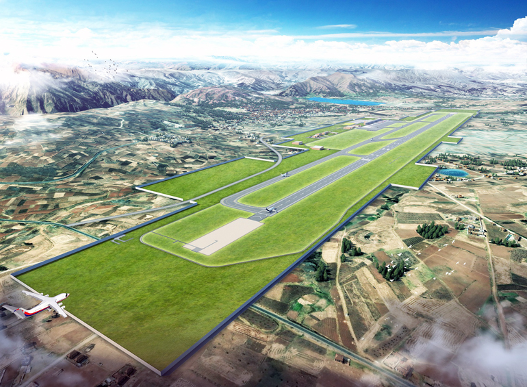 First-Time in Corporate History to Enter Peruvian Market: Site Preparation for the Chinchero International Airport