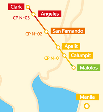 Our company wins deal to build Malolos-Clark Railway